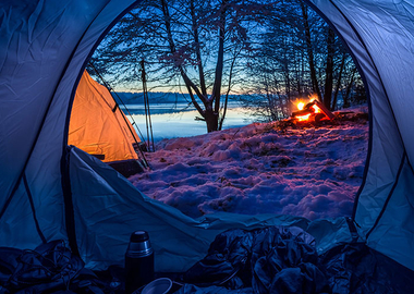 The best winter camping sites