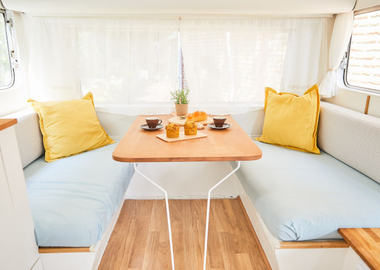 5 ways to spruce up your caravan easily