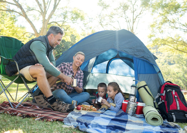 What to consider when planning a family camping trip